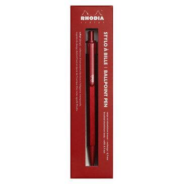 Rhodia : scRipt Ballpoint Pen - Red