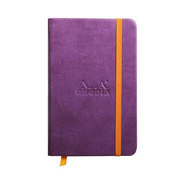 Rhodiarama : Notebook Hardcover - A6 - Purple (6503)