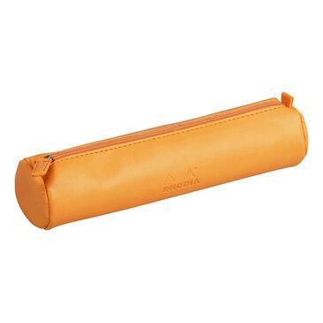 Rhodia : Round pencil case - Orange (8901)
