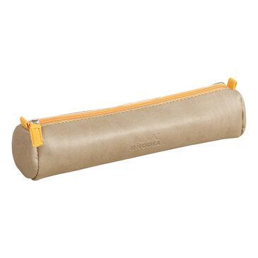Rhodia : Round pencil case - Taupe (8949)