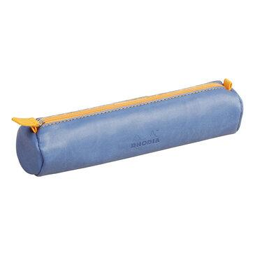 Rhodia : Round pencil case - Sapphire Blue (8987)