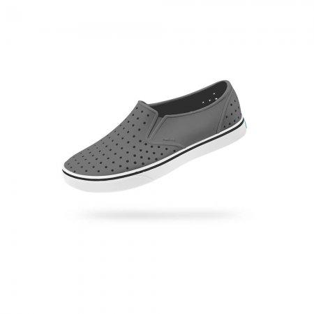Native Shoes รองเท้ากันน้ำ EVA รุ่น MILES  / DBLGRY SHLWHT