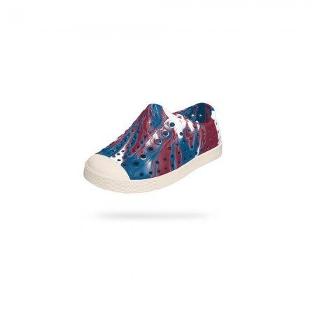Native Shoes รองเท้าเด็กเล็ก กันน้ำ EVA รุ่น JEFFERSON MARBLED / TRNBL BNWHT MARBLE