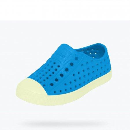 Native Shoes รองเท้ากันน้ำเด็กเล็ก EVA รุ่น JEFFERSON GLOW/VICTORIA BLUE GLOW