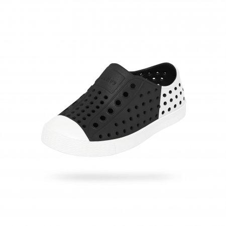 Native Shoes รองเท้ากันน้ำเด็กเล็ก EVA รุ่น JEFFERSON BLOCK /JFYBLK/SHLWT/SHLBLOC
