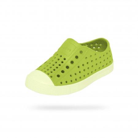 Native Shoes รองเท้ากันน้ำเด็กเล็ก EVA รุ่น JEFFERSON GLOW/CHARTREUSE GREEN GLW