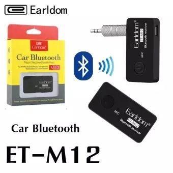 Earldom อุปกรณ์รับสัญญาณบลูทูธ Car Bluetooth M12