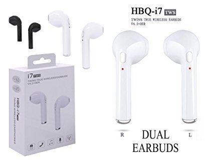 หูฟัง HBQ i7 TWS Twins (Dual L/R) True Wireless Earbuds Mini Bluetooth V4.2+EDR
