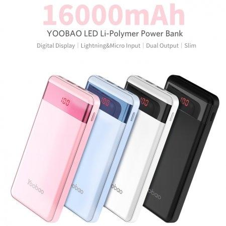 Power Bank Yoobao P16 Pro16000mAh