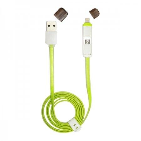 COMMY FLAT USB CABLE 2 IN 1