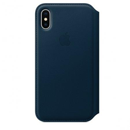 เคส Leather Folio (For iPhone X)