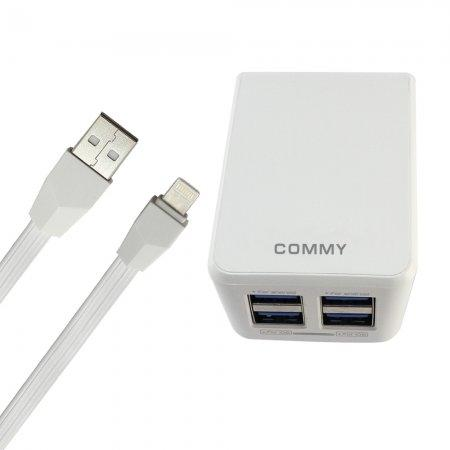 Adaptor Auto ID 4 Ports + Lightning Cable