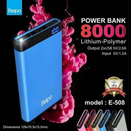 Power Bank REPO 8000mAh