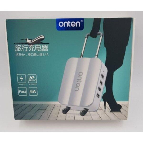 ONTEN Adapter Charger ที่ชาร์จ USB 4 PORT  Model : OTN-P13