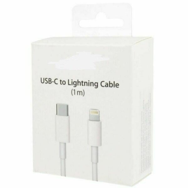 USB-C to Lightning Cable 1m.