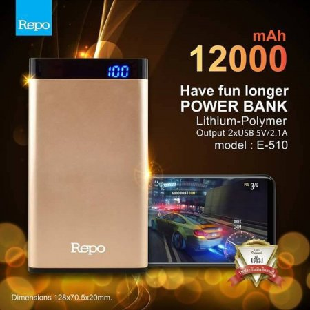 Power Bank REPO 12000mAh