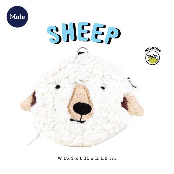 Wildkeeper Sheep Male กระเป๋ากุญแจแกะตัวผู้