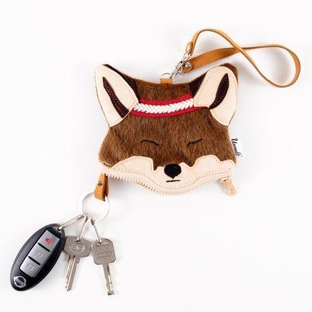 Wildkeeper Red Fox Female กระเป๋ากุญแจหมาจิ้งจอกตัวเมีย