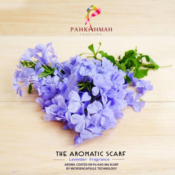THE AROMATIC SCARF - LAVENDER