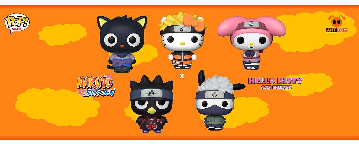 Naruto x Hello Kitty