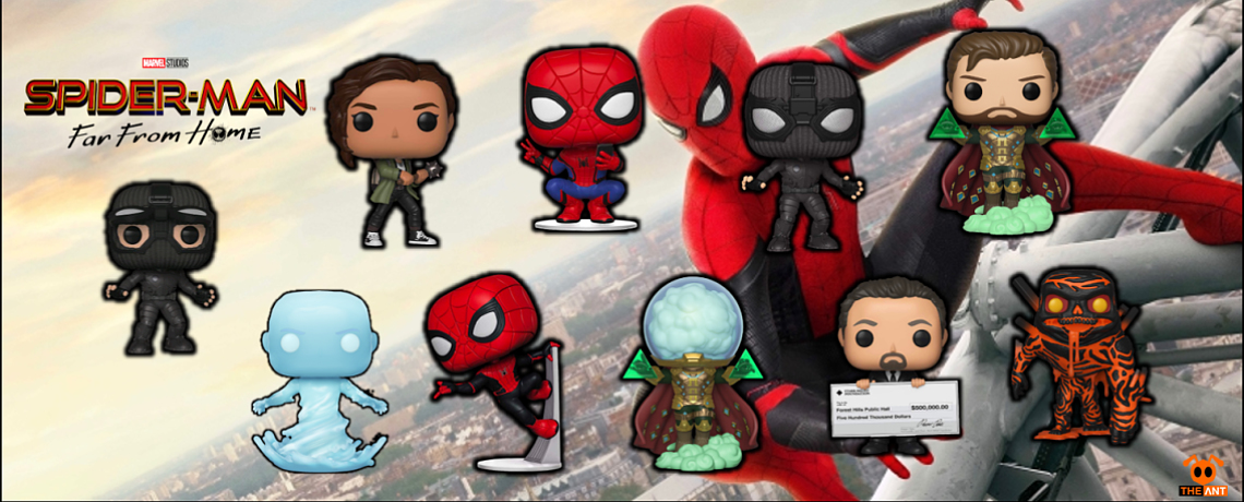Funko POP Spider Man Far From Home