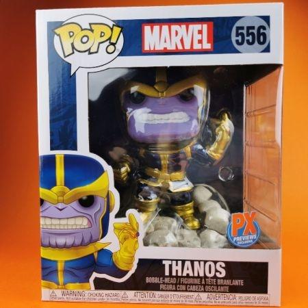 "Funko POP Thanos Snap Marvel (PX Previews Exclusive) 6""556"