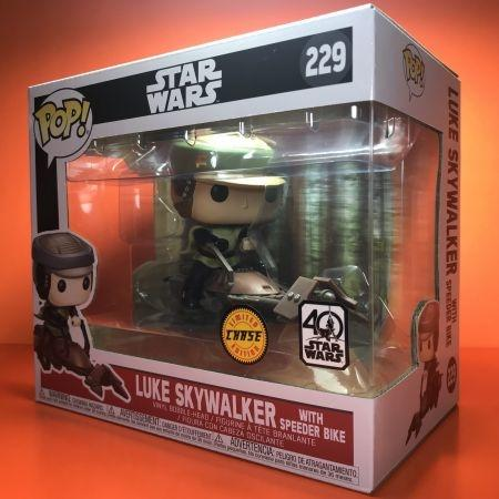 Funko POP Star Wars 229 Luke Skywalker With Speeder  Bike 229