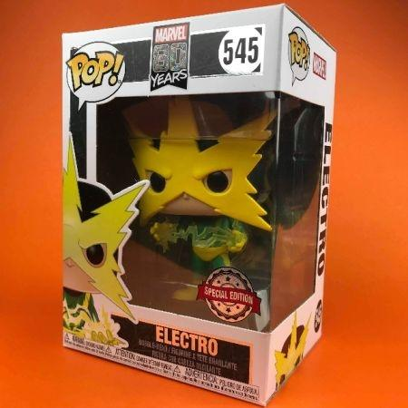 Funko POP Electro Spider-Man First Appearance 80th Anniversary 545