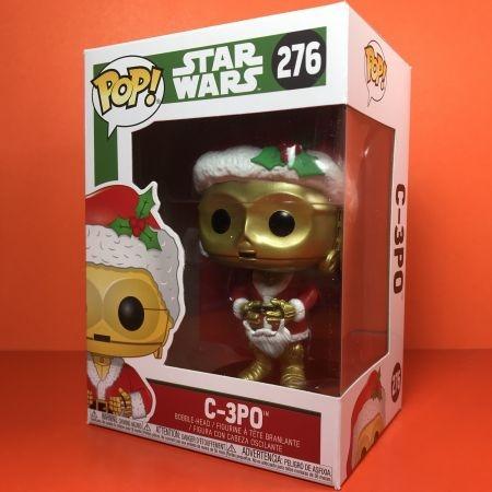 Funko Pop Star war C3PO Holiday