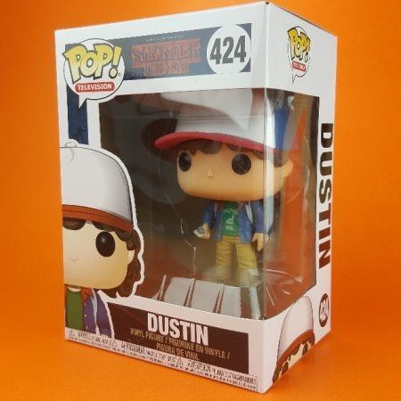 Funko POP Dustin Stranger Things 424