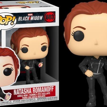 Funko POP Natasha Romanoff Black Widow 603