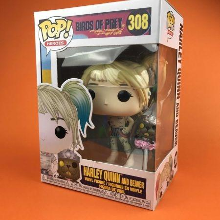 Funko POP Harley Quinn And Beaver Birds of Prey 308