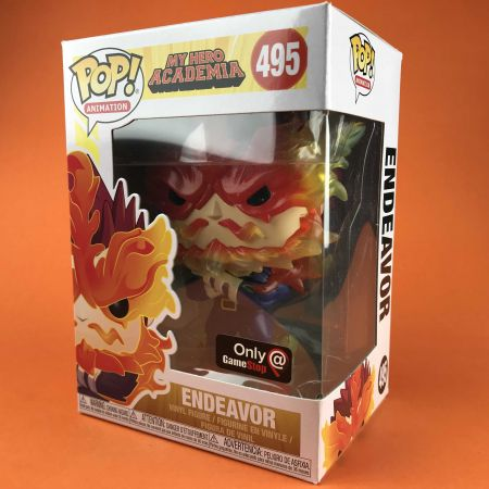 Funko POP Endeavor My Hero Academia Game Stop 495