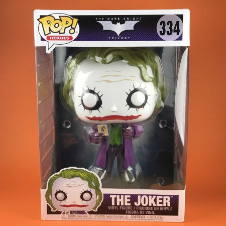 "Funko POP The Joker The Dark Knight Trilogy 10"" 334"