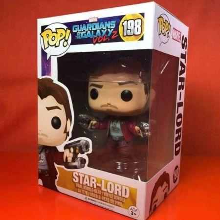 Funko POP Guardians of the galaxy -Star - Lord 198