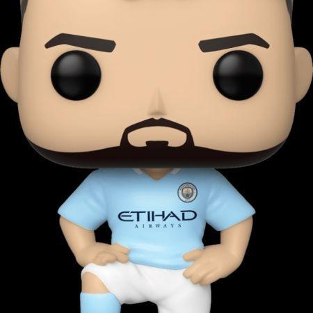 Preorder Funko Pop Football Sergio Aguero Manchester  City  27