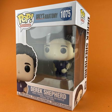Funko POP Derek Shepherd Grey's Anatomy 1075
