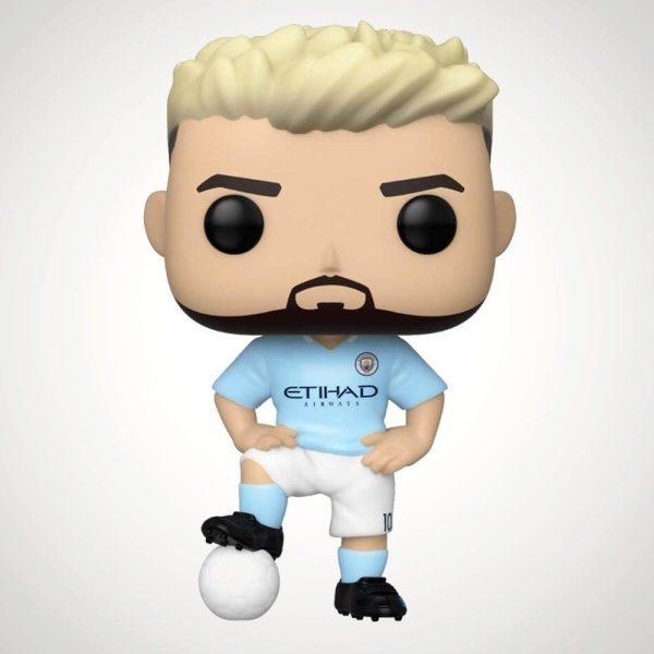 Preorder Funko Pop Football Sergio Aguero Manchester  City  27