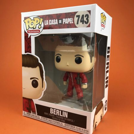 Funko POP Berlin La Casa De Papel 743