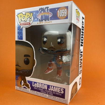 Funko POP LeBron  James Jumping 1059 Space Jam A New Legacy