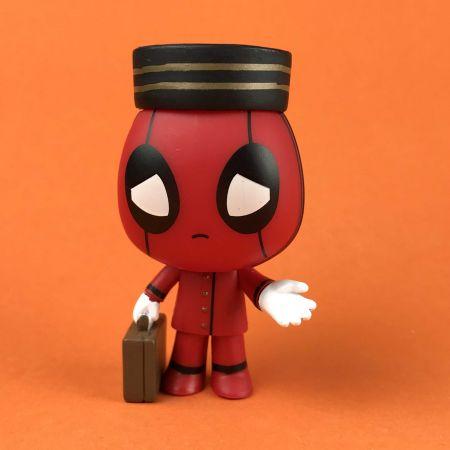 Funko Mystery Minis Bell boy Deadpool