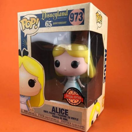 Funko POP Alice Disneyland 65th Anniversary Exclusive 973