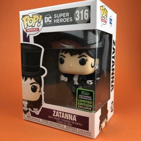 Funko POP Zatanna DC Super Heroes Exclusive ECCC 316