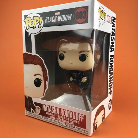 Funko POP Natasha Romanoff Black Widow 603