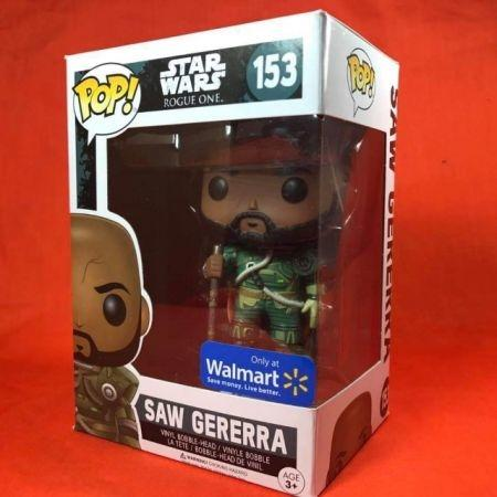 Funko POP Saw Gererra Star wars Rogue One 153 Walmart Exclusive