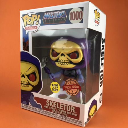 Funko POP Skeletor Glow in The Dark : Masters of The Universe 1000