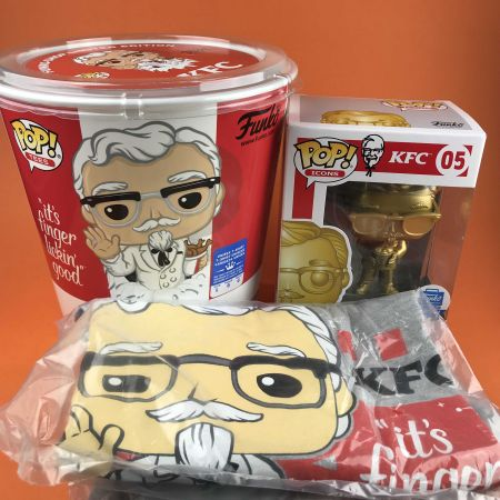 Funko POP & Tee: KFC Colonel Sandars Funko Shop Limited Edition Exclusive Size L