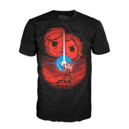 Funko POP Tee Shirt Star Wars Obiwan Size M