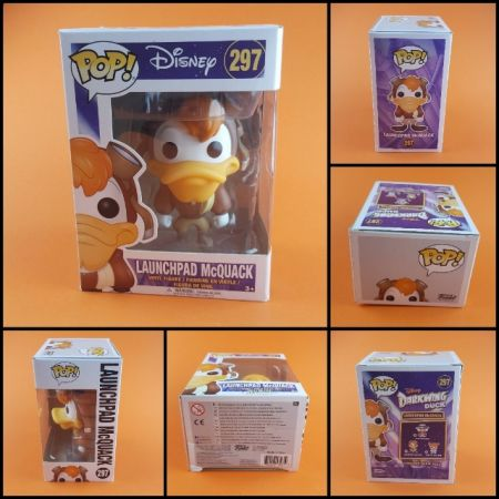 (กล่องบุบ) Funko POP Launchpad Mc Quack Disney 297