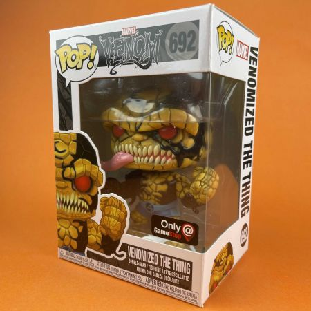 Funko POP Venomize The Thing 692 Game stop exclusive
